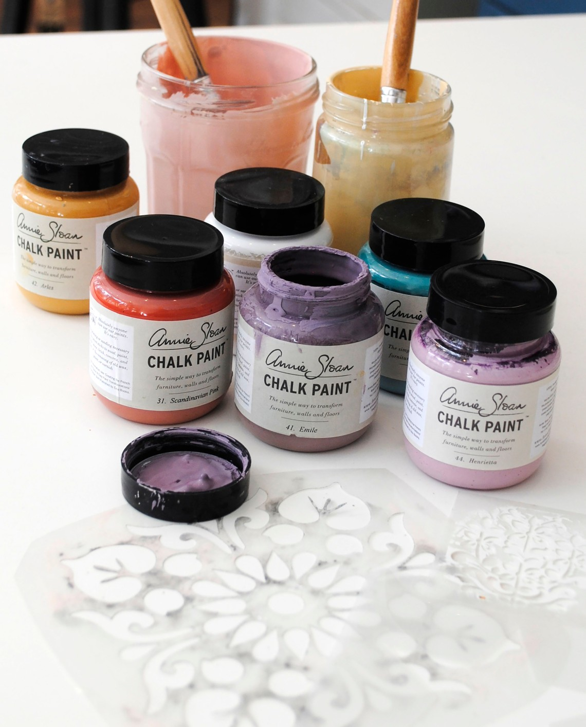 Paint and Stencils