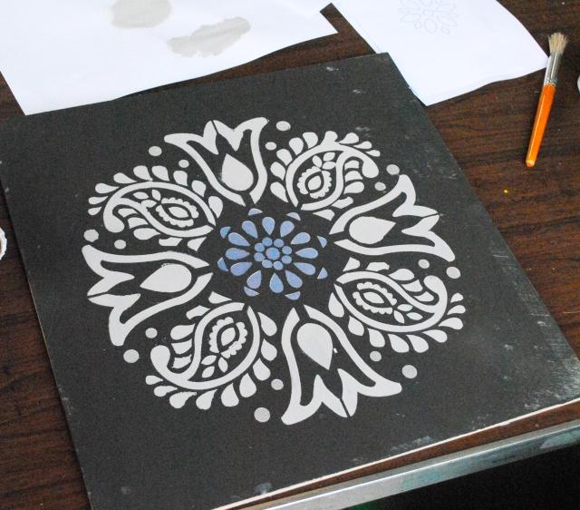 stencil board