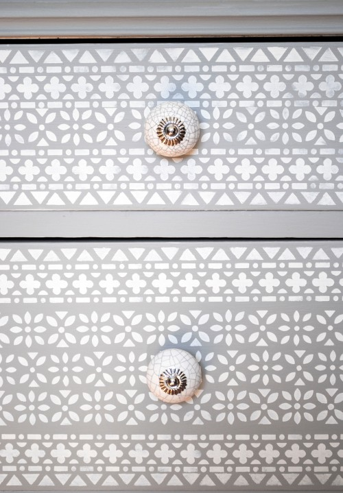 grey drawer pulls
