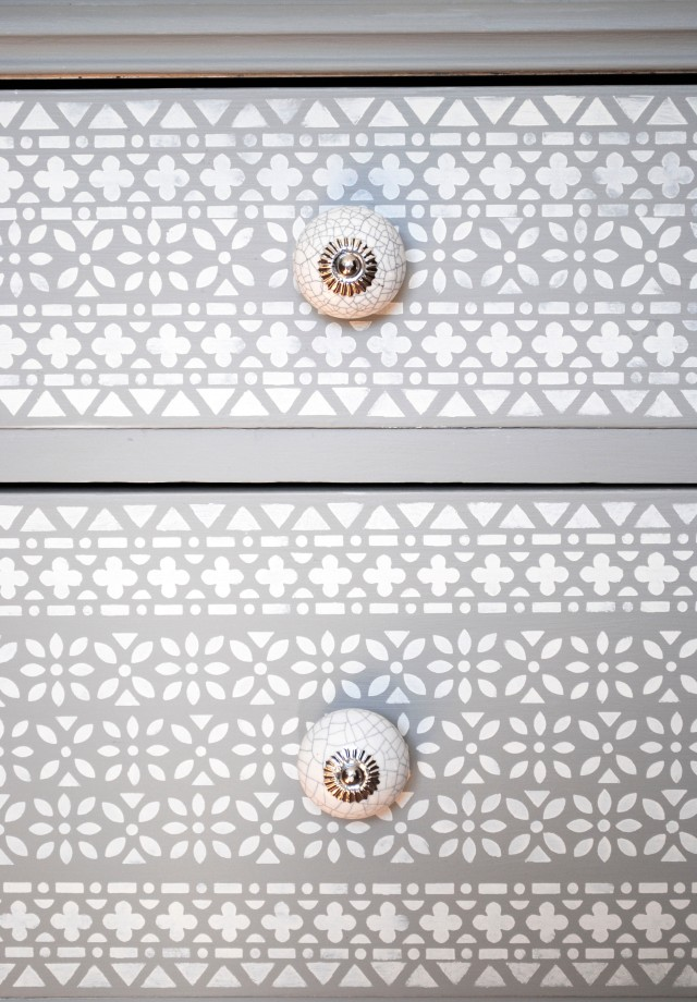 grey drawer pulls