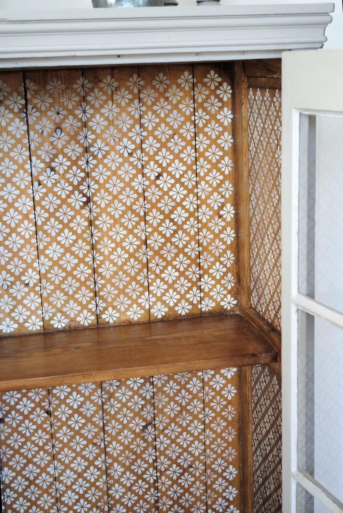 pine cupboard interior 2