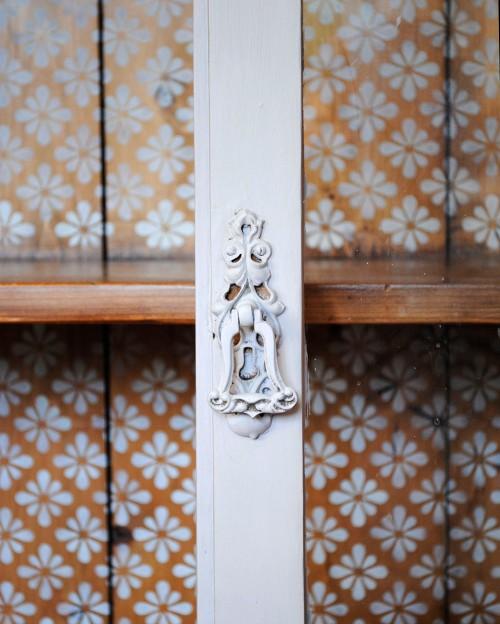 pine cupboard interior