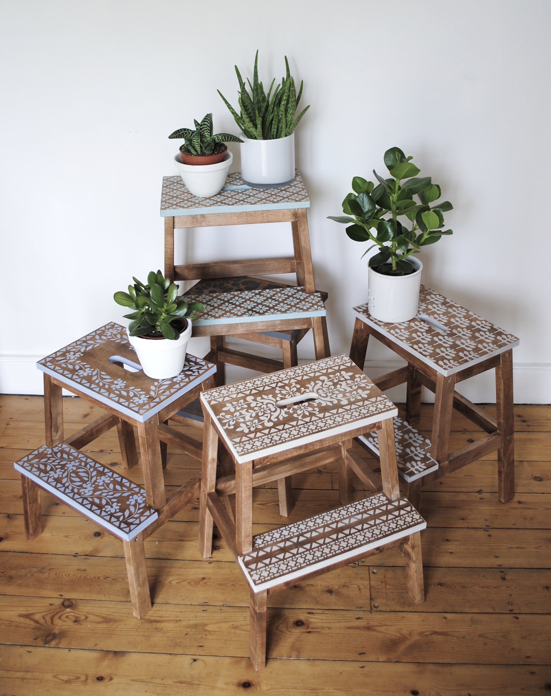 Reloved Magazine an Ikea Hack and a lot of Stencils : bekvam step stool - islam-shia.org